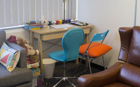 Child therapy area